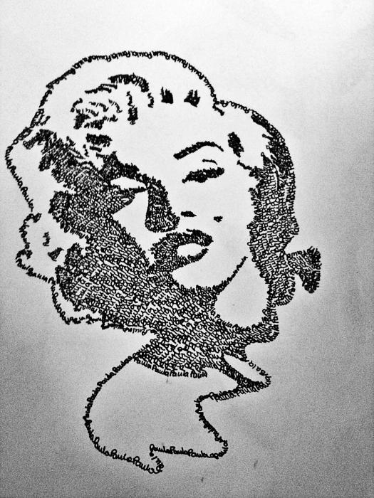 Marilyn Monroe by Paulinaa18